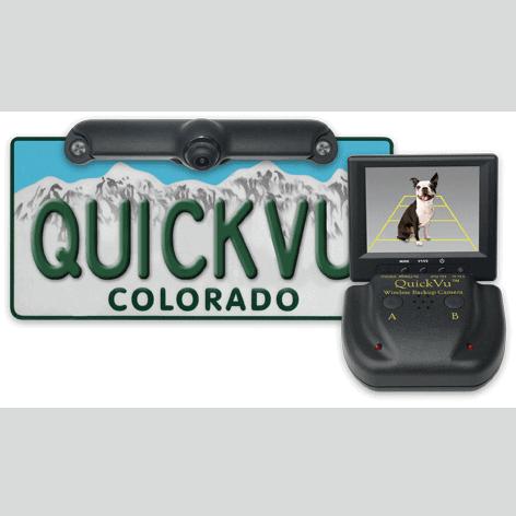 QuickVu™ Wireless Backup CamerasQuickVu™ Wireless Backup Camera