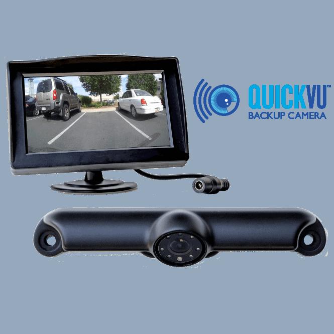 Rv Backup Camera >> QuickVu™ Digital Wireless Backup Camera System – QuickVu™ Wireless Backup Cameras